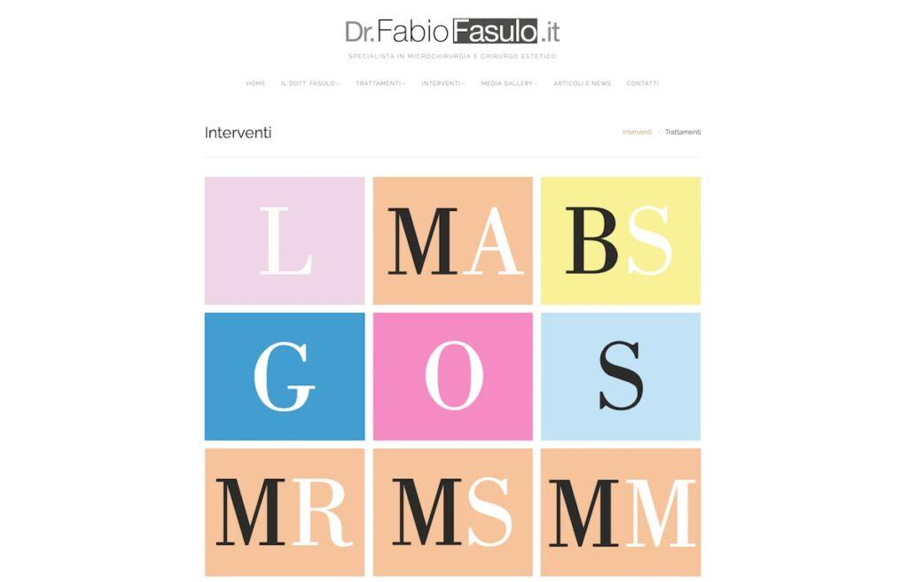 Portofolio Dott. Fabio Fasulo