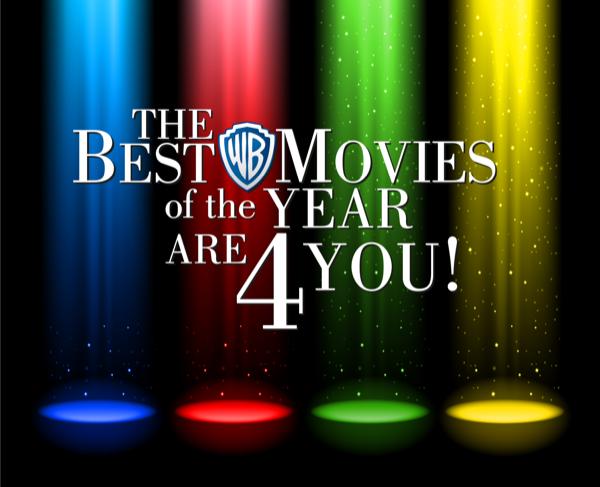 Best film of the year WARNER MOVIE SERIES
