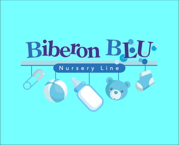 Biberon blu BABY CARE