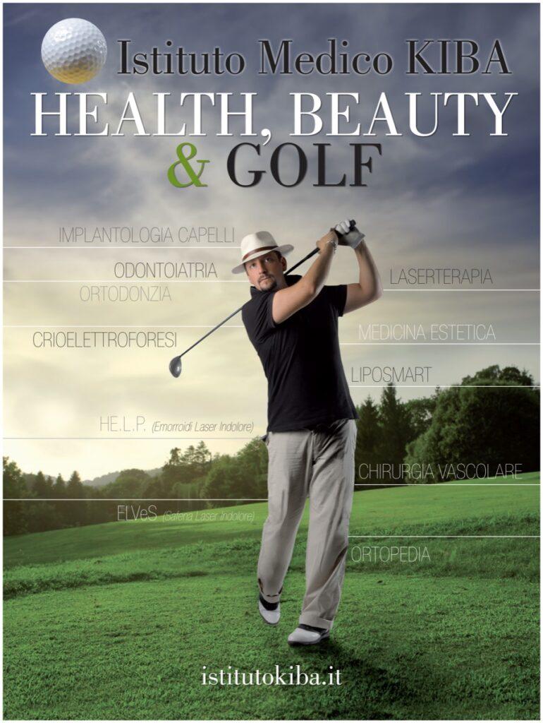 Istituto Medico KIBA: Golf consumer magazine