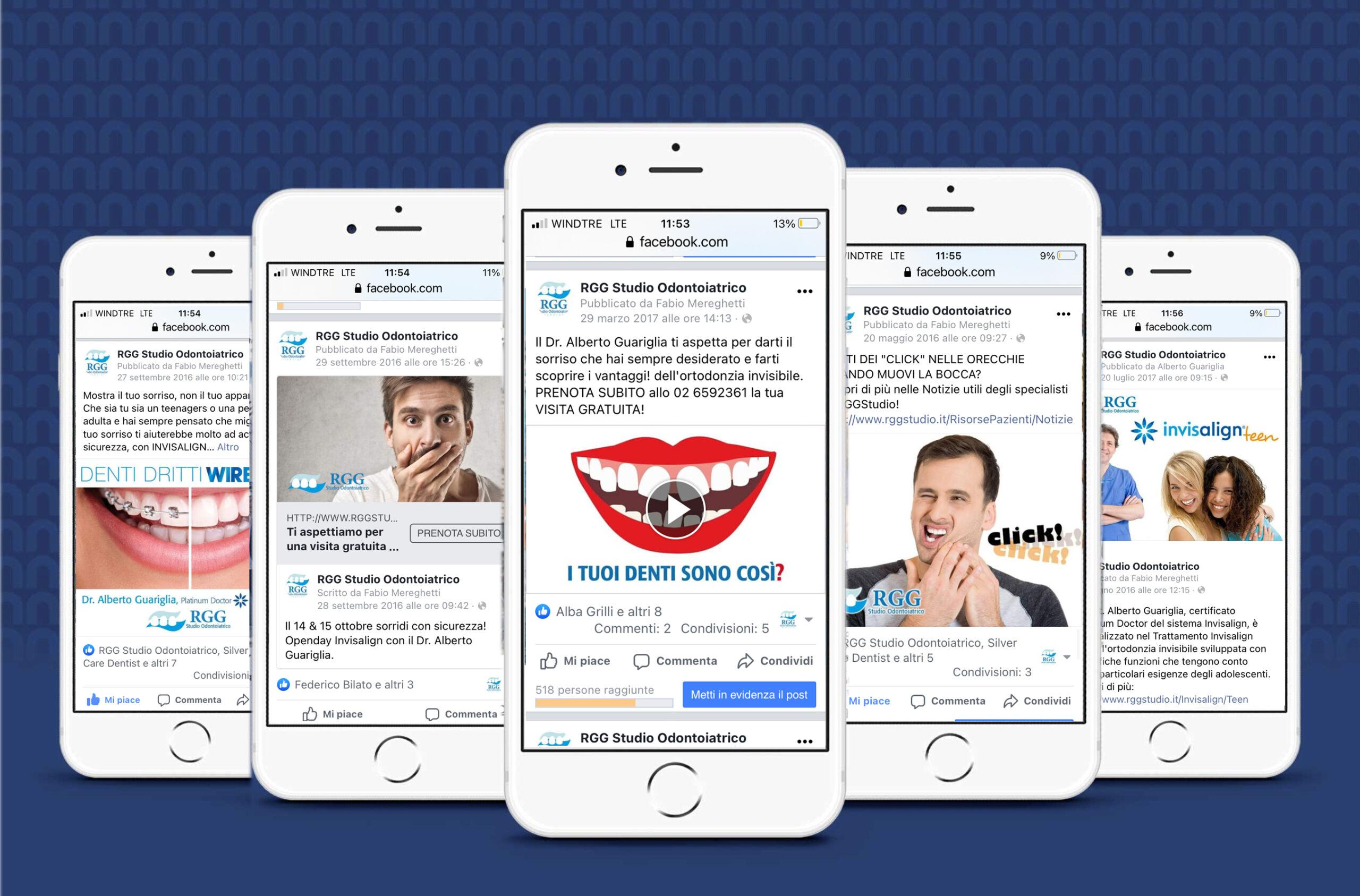 RGG Studio Odontoiatrico: Social campaign